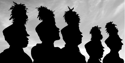 bands silhouette